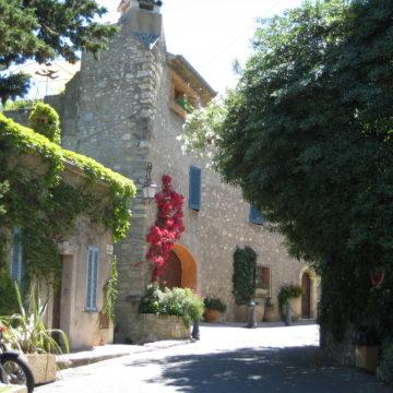 Город Мужен во Франции
